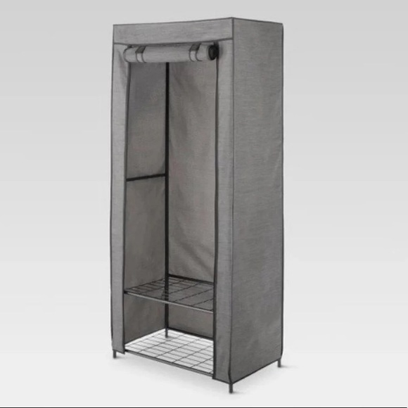 Threshold Other - Metal Freestanding Closet with Cover